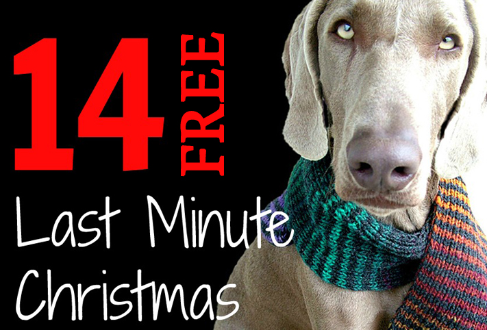 Easy Knitting Projects For Gifts : Quick easy free last minute christmas gift knitting