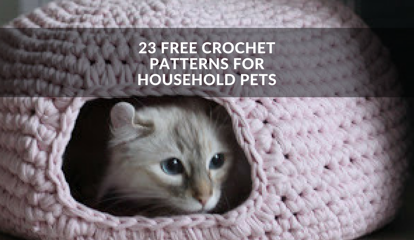 Crochet Dog Bed Free