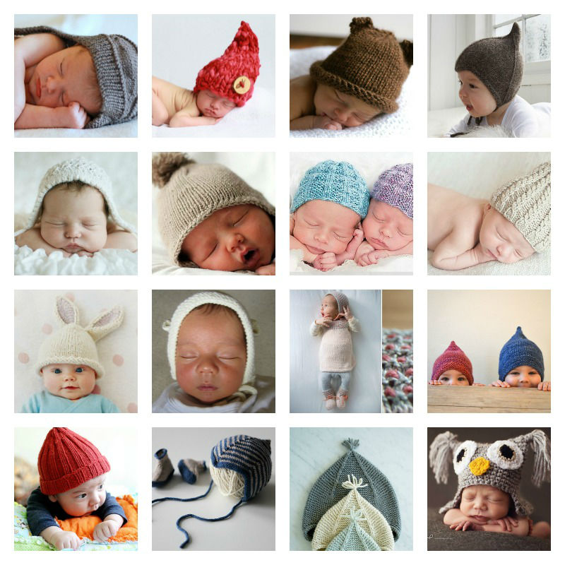 Knitting Photography Props : Free knitting patterns for newborn photography props